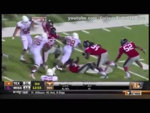 Malcolm Brown Texas Highlights.
