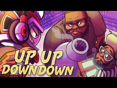 Dj CUTMAN + Mega Ran - Up Up Down Down ft. DnD Sluggers - GameChops - Shovel Knight Rap Game Remix
