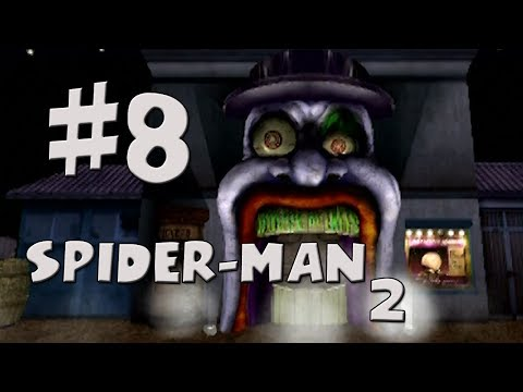Spider-Man 2 Walkthrough Part 8 - House of Terror