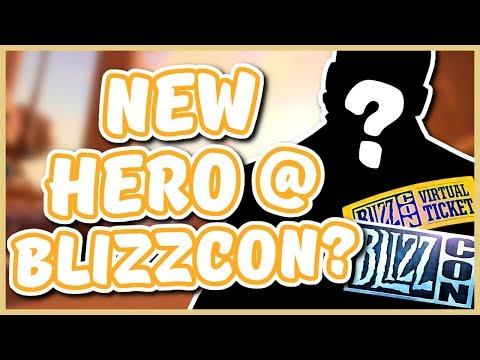 Overwatch - NEW HERO AT BLIZZCON 2017?! (Hero 26 Speculation)