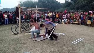 দেখুন কি ভাবে বাংলা সিনেমার  সুটিং করা হয়  খোলা  ময়দানে