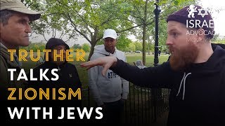 Truther confronts Jews about Zionism and the Holocaust