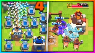 HILARIOUS TROLL DECKS to TRICK YOUR ENEMY in Clash Royale!