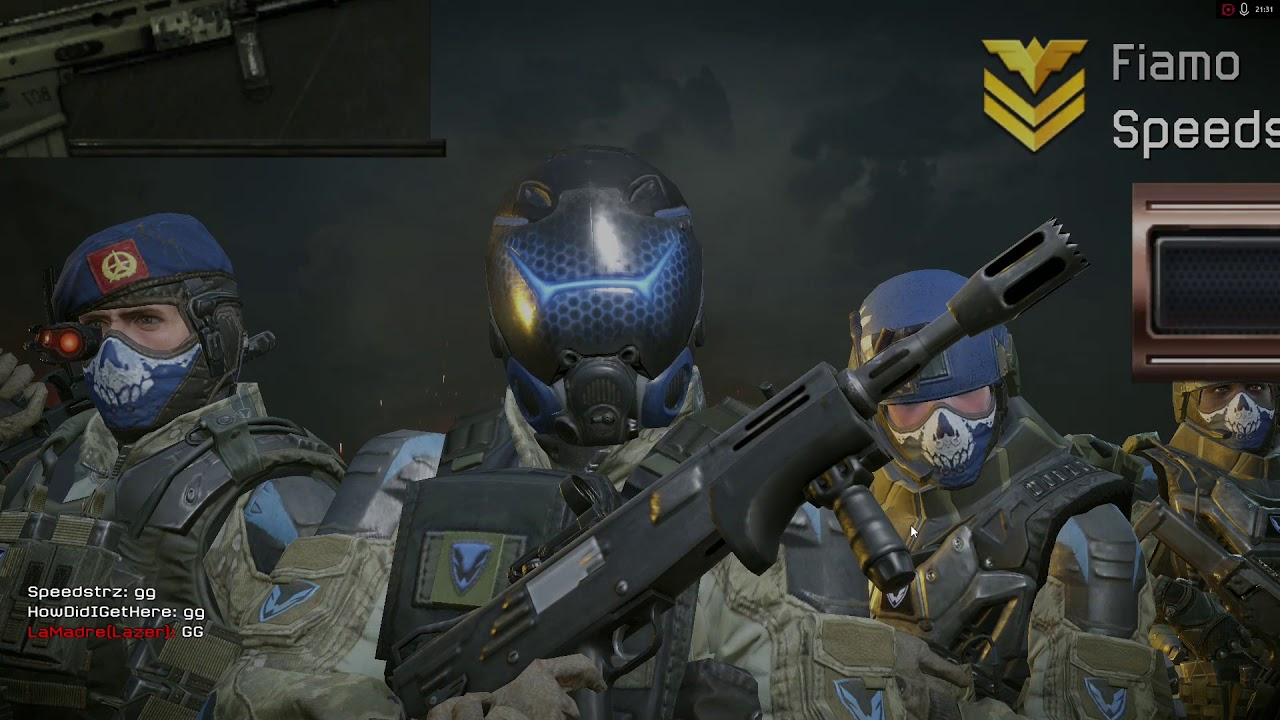 Challenge cup warface