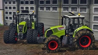 Farming Simulator 2015 Claas Axion 850 Tractor Pack