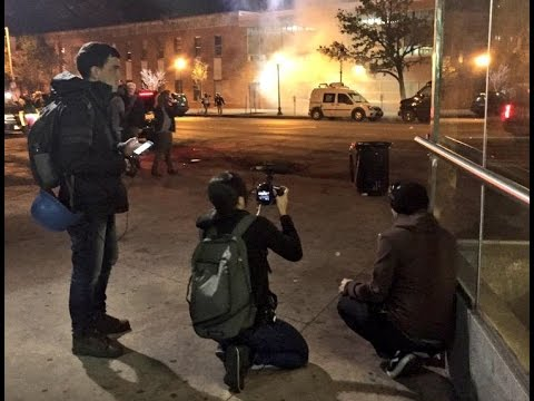 Baltimore Police Go After and Shoot Journalists