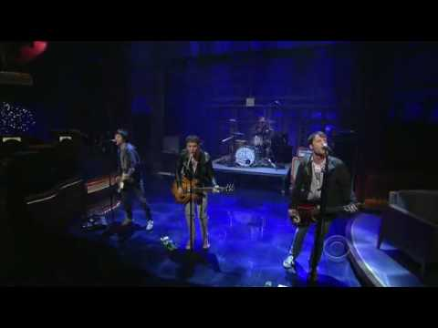 The Cribs on David Letterman 11/12/09