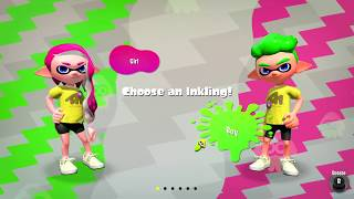 Splatoon 2 - Character Creator Quick Look