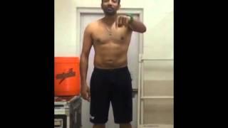 Robin Uthappa - ALS ice bucket Challenge