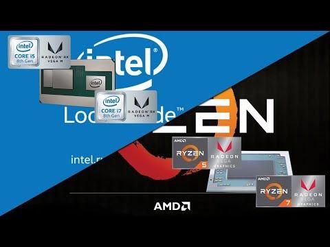 CPU Intel con AMD Radeon igual a una 1060 y todo sobre Ryzen 2 - Proto HW & Tec