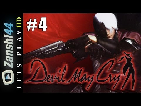 (PS2) Let's Play Devil May Cry ► Mission #4 : Chevalier Noir