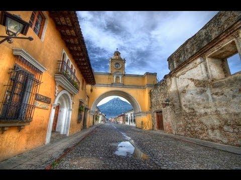 ANTIGUA - THE EARTHQUAKE-HIT FORMER CAPITAL CITY OF GUATEMALA