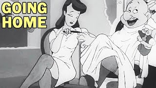 Private Snafu - Going Home | 1944 | WW2 Cartoon | US Army Animated Training Film