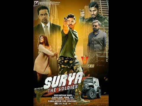 Surya  The Brave Soldier 2018 Full Hindi Dubbed Trailer   Allu Arjun, Arjun Sarja, Anu Emmanuel
