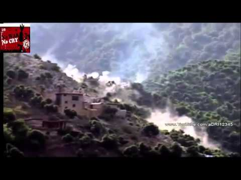Afghanistan   AH 64 Apache Helicopter Airstrike Destroys Taliban Positions During Firefight avi