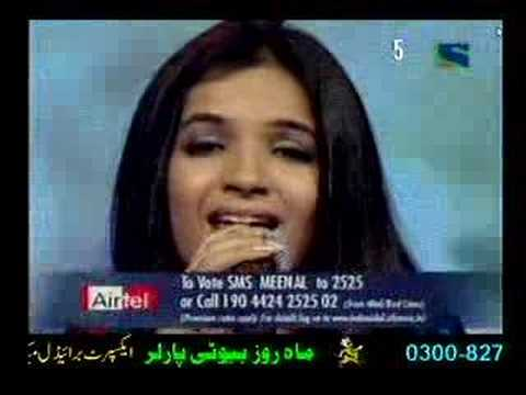 Meenal Jain singing NIGAHEIN MILANEY KO