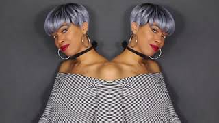 Gray Pixie Cut Perfection Fashion Wig