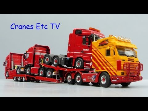 WSI Scania R143 Truck Transporter 'VSB' by Cranes Etc TV