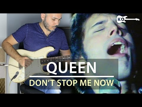 Queen - Don't Stop Me Now - Electric Guitar Cover by Kfir Ochaion