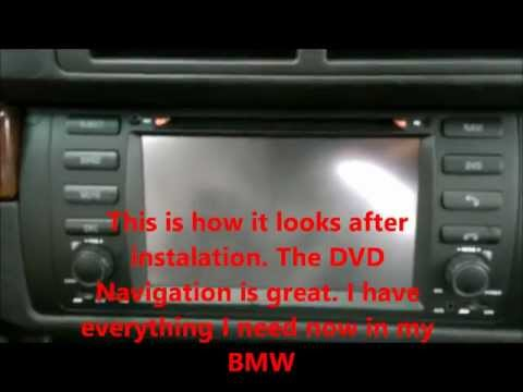 Unboxing and Installing BMW E39 DVD Navigation system on 540I