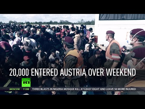Race for Europe: Thousands of migrants & refugees arrive over weekend, cause far-right rise