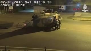 Darbeciler helikopterle kaçtı
