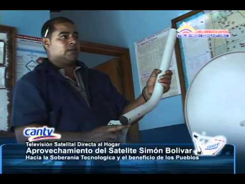 Instalación Televisión Satelital Cantv Comunidad Santa Ana del Valle. La Grita Edo. Táchira