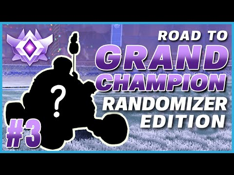 I HIT A DOUBLE FLIP RESET WITH THESE SETTINGS?! | ROAD TO GRAND CHAMP RANDOMIZER EDITION #3