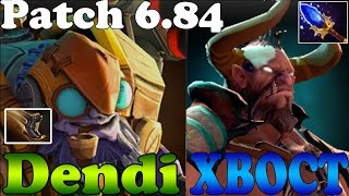 Dota 2 - Dendi Tinker Upgraded Boots of Travel + XBOCT Centaur Aghanim's Scepter COMBO Plays Ranked