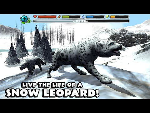 Snow Leopard Simulator -By Gluten Free Games -Compatible with iPhone, iPad, and iPod touch.