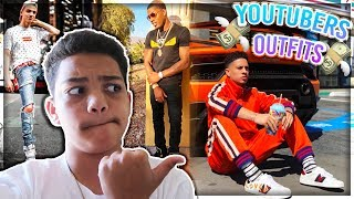 REACTING TO YOUTUBERS HYPEBEAST OUTFITS FT BLAZENDARY CJ SO COOL AND