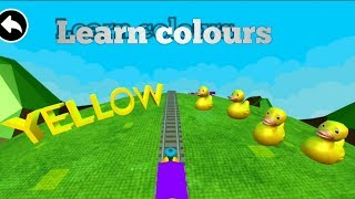 Learn colours easily by train video#kids educational video#3Dtrain games for kids