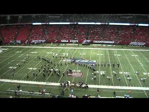 Ridgeland High School Marching Band at the GA Dome 12-15-2012
