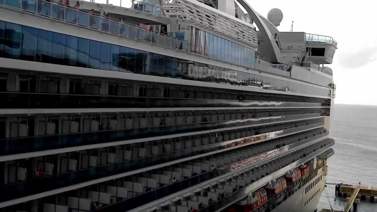 Carnival Glory Ship Horns  Grand Turks 2012  YouTube