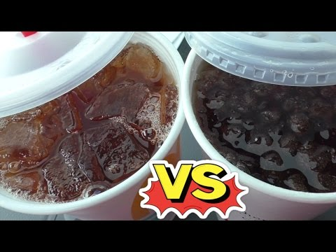 McDonalds Vs ChickFil-A Sweet Tea