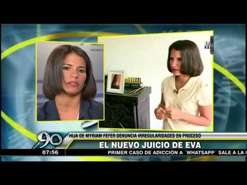 Eva Bracamonte sobre juicio: