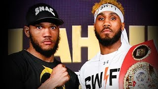 JARRET HURD VS JULIAN WILLIAMS - FULL PRESS CONFERENCE & FACE OFF LIVE