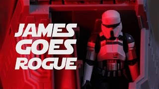 JAMES GOES ROGUE | Playing with Rogue One Toys