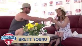 Download Lagu Brett Young Interview at WMZQ Fest Gratis STAFABAND