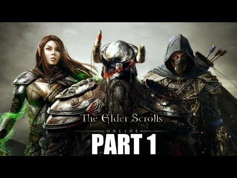 The Elder Scrolls Online Gameplay Walkthrough Part 1 - PC Ultra Settings Review Playthrough
