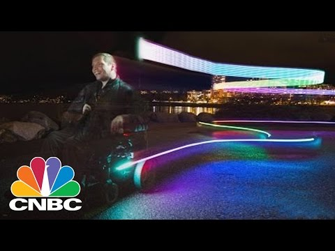 Lights Designed To Improve Safety For Wheeled Commuters | CNBC
