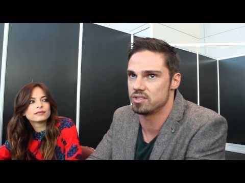 Nycc 2013 Interview W  Jay Ryan And Kristin Kreuk video