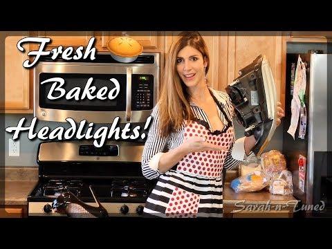 Baking with Sarah! // DIY Headlight Retrofit
