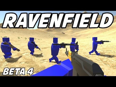 Ravenfield Gameplay - Red vs Blue Battlefield Simulator! (Free Download!)