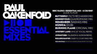 Paul Oakenfold Video - Paul Oakenfold Essential Mix: November 30, 1997