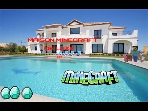 Minecraft Map Maison De Luxe Perfect Deco Buffet Salon Maison