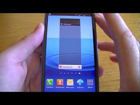 Samsung Galaxy S3 (Tutorial IV): Interfaz de Usuario y Sistema Operativo