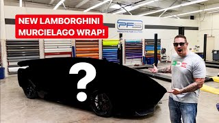 NEW LAMBORGHINI MURCIELAGO WRAP REVEAL!