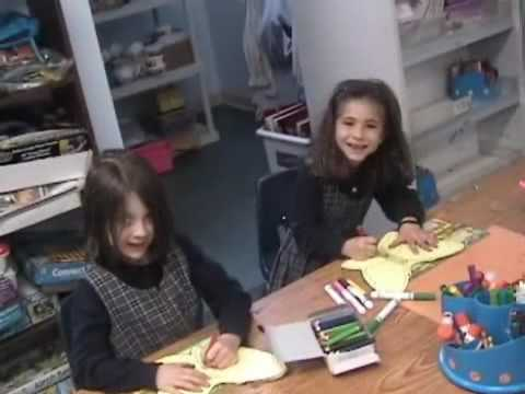 Bnos Yisroel Kindergarten Graduation 2009 Video - Part 2