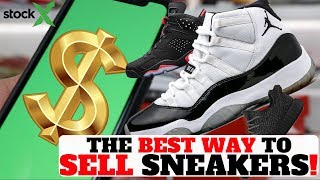 HOW TO MAKE MONEY RESELLING SNEAKERS ONLINE with STOCKX!!
